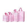 2016 cheap recycled custom printing grocery tote shopping pp non woven bag