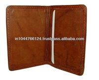 Promotional Item Leather Credit Card Holder / new design cute business card case