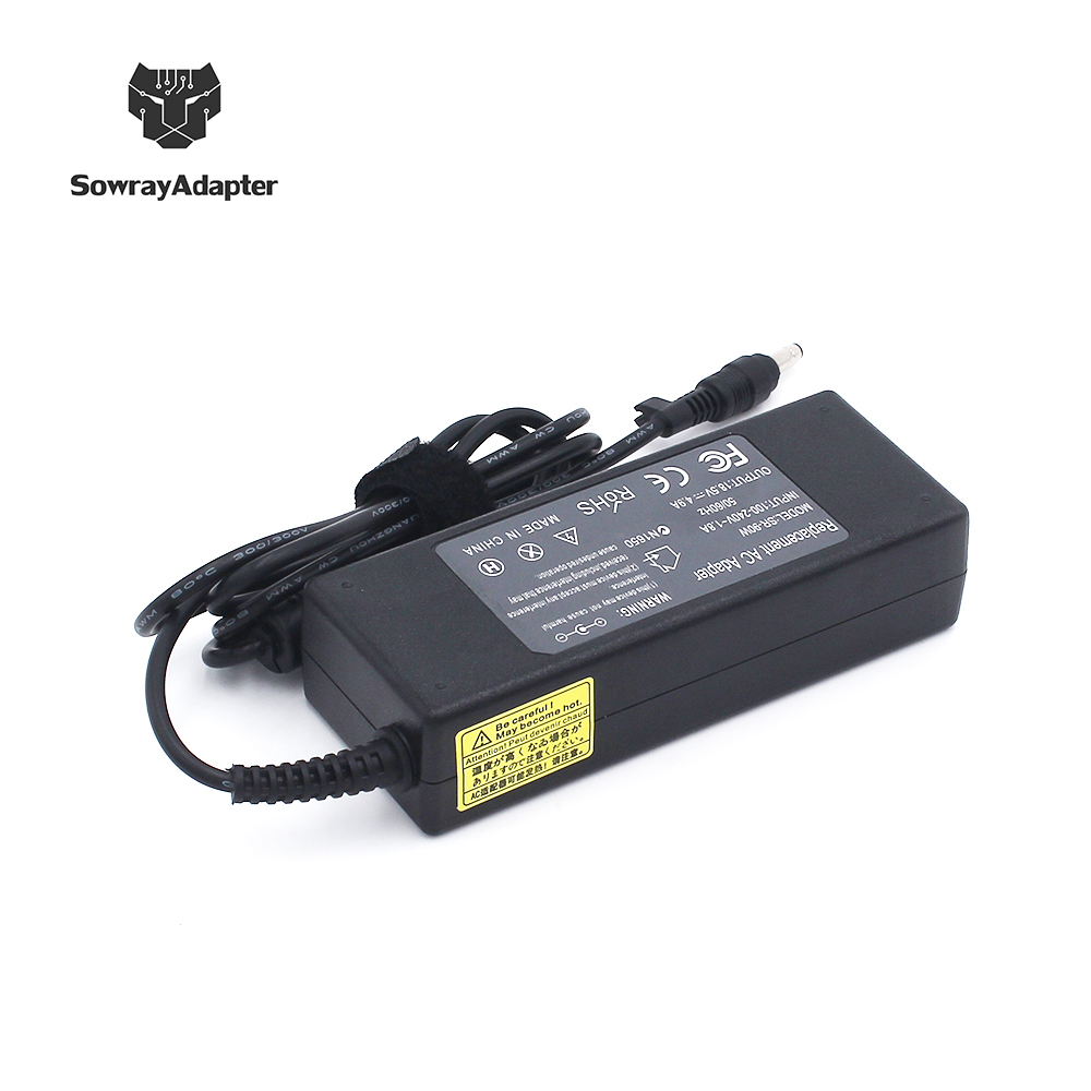 Laptop Adapter for HP 18.5V 4.9A---283884-001