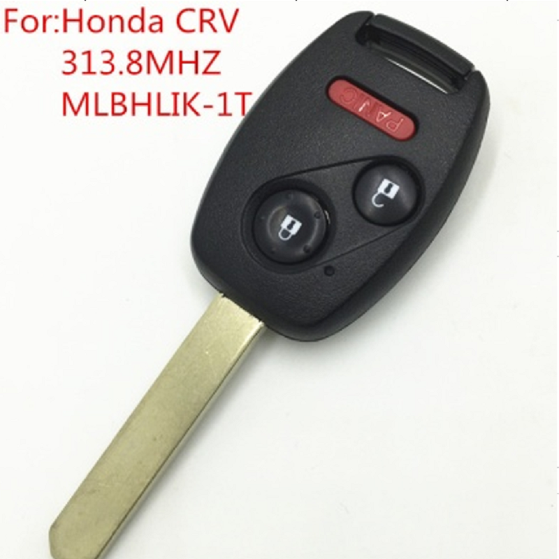 New Replacement Remote Car Key For Honda CRV Fit Insight 2+1 Button 313.8MHz with ID46 Chip USA Version FCC ID :MLBHLIK-1T