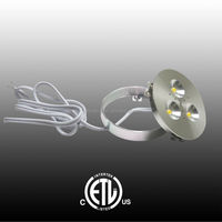 RD15 3W Dimmable Power LED Puck light