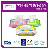 China factory OEM baby product mother care cleaning wet wipe