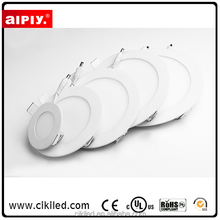 AIPLY brand Factory wholesale 6W 12W 18W 24W 30W ultra slim round square smd led panel light