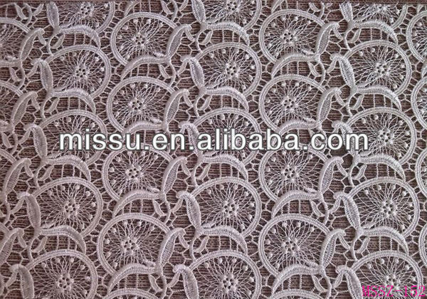 high qualiy 100% polyester lace fabric for wholesale german lace curtains for sale