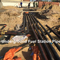 Chinese Suppliers Petrol Diesel Gasoline Station fuel Filling Line pipes UP pipe