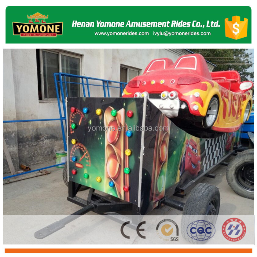 Fairground/fun fair rides of small movable amusement park games with trailer for sale