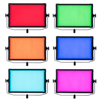 TC-768 RGB  NiceFoto 160W LED video light  Dimmable Panel  LED Video Light , 2800K-9000K, CRI 95+,TLCI 97+