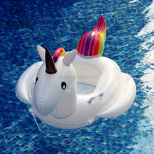 Baby Swimming Ring Unicorn Seat Inflatable Pool Float Baby Summer Water Fun Pool Toy