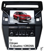 (for Citroen C-Quatre / Cross): 8 inch Car DVD GPS With RDS/IPOD /FM/BT