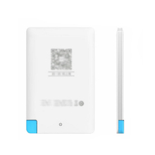 Tip TOP ! Plastic Power Bank 2400mAh Portable External Pack USB Battery Charger