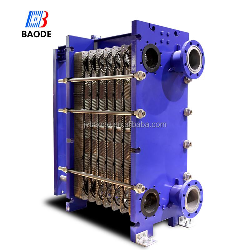 Titanium swimming pool heat exchanger gasket plate