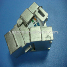 A65 good quality shielded cat6 toolless screw jack