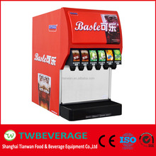 Cornelius valve fountain soda dispenser for soda fountain machine