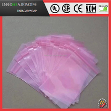 Customed electronic products antistatic esd pink pe bag