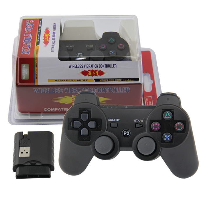 Gamepad for PS3/PS2/PC Wireless <strong>Controller</strong> with Battery