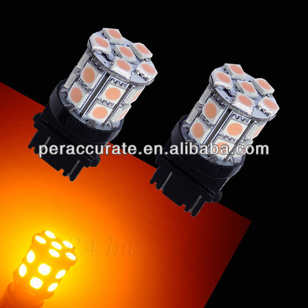 12V 4157 3157 20SMD 5050 LED For Car Auto Truck Use Rear/Side/Marker/Turn/Signal Light Bulbs Auto Lamp Amber Yellow