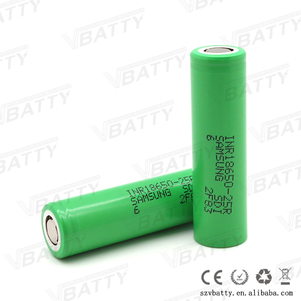 25r battery for sale 18650 samsung sdi inr18650-25r 2500mah 30a toy helicopter battery