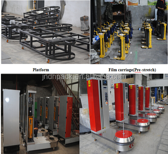 High Quality Factory Price of Airport Luggage Wrapping Machine/Airport Baggage Wrapping Machine With CE Wrapping Machine