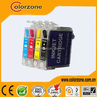 Refillable ink cartridge for epson t10/ t11/ t13, T0731N- T0734N ink cartridge for epson tx121