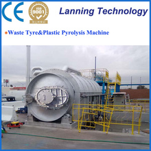 Eco-friendly Factory price Waste Tire Recycling Machine to fuel oil