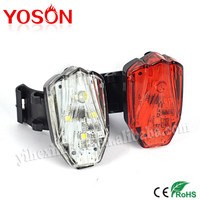 Multi Colors Waterproof Bicycle Flash Safety Caution Lamp Bike LED Tail Rear Light