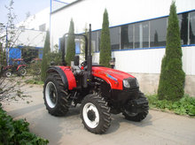 90hp 4 wheel rice farming machinery tractor