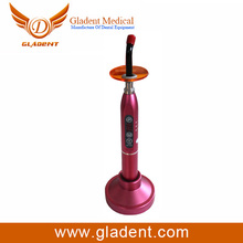 Wireless dental curing light machine, led light curing unit with red color