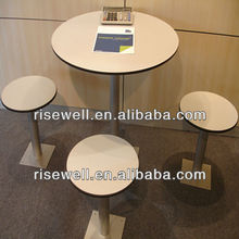 2013 New designs hpl formica dining tables