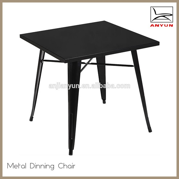 commercial popular industrial metal bistro table