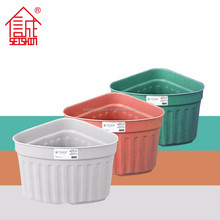 PP Plastic Type European Rounded Style Triangle Planter