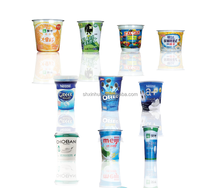 shrink sleeve labeling machine for themoforming yogurt cups
