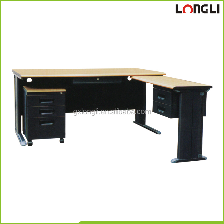 LONGLI hot sale study table office furniture commercial steel desk/table