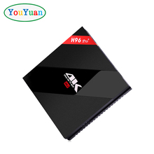 4K HD Android 7.1 TV Box H96 Pro plus Mini Set Top TV Box 3G DDR3 16G eMMC Amlogic S912 Octa-core BT4.1 Dual Band 2.4G/5.8G WIFI