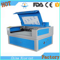 nice cut wood acrylic cutting machine with 80w co2 laser tube