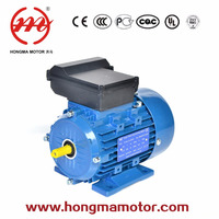 1hp capacitor start motor 2800 rpm single phase electric ac induction motor