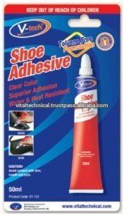 VT-121 Malaysia 50ml Tube Carded Solvent-based Shoe Adhesive