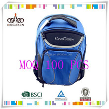 Chinese brand laptops backpack with large zipper
