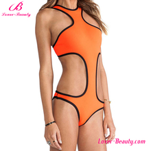 Hot selling young girls silk sexy swimsuit