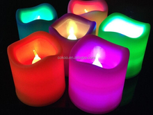 2016 fashion led candle tea battery New year's Eve candle New Year Decoration