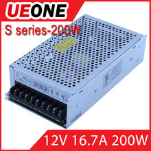 12V 16.7A 200W AC/DC Switching power supply CE ROHS