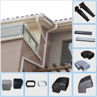 NUORAN popular PVC valley gutter for rain carrying
