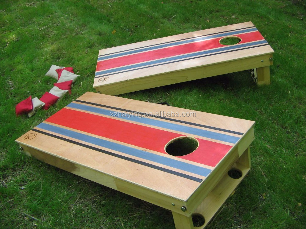 Cornhole Board Game Set Bean Bag Toss Beanbag Boards Corn Hole Outdoor