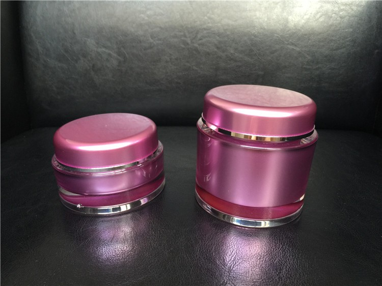100g,200g, Large Acrylic Cosmetic Skin Care Jar