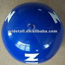 pvc inflatable promotional beach ball toy/inflatable advertising beach ball