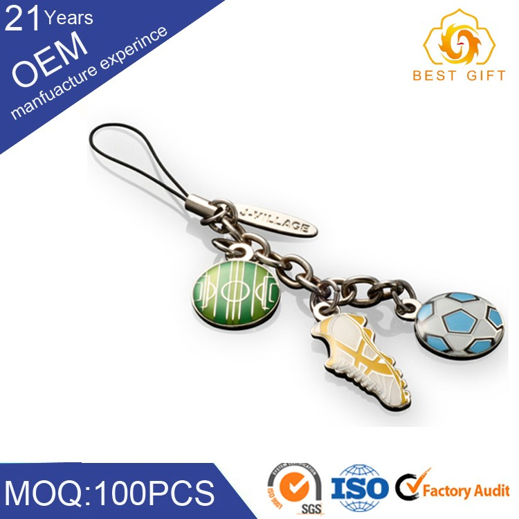 decorative Metal Chains With Mobile Phone Straps