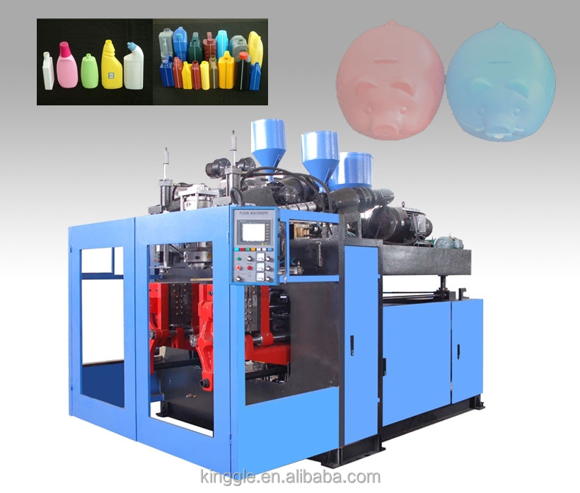 New 2 liter bottle PXB55D HDPE blowing machine