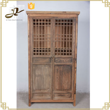 antique hotsale cheap old door recyled wood chinese style cabinet