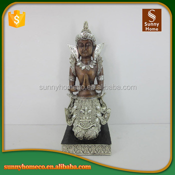 Chinese Factory Custom Made Resin Buddha Sculpture Used For Home Decoration