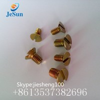 Stainless steel A3 slotted flat countersunk head cap screws+86 13537382696