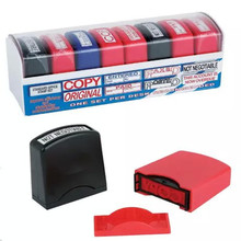 colorful Self Inking pocket Rubber Stamp signature rubber stamp